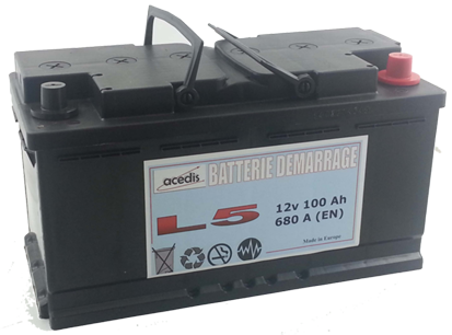 batteries démarrage acedis gamme dem