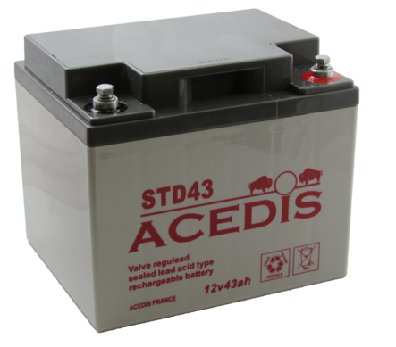 agm batteries std range
